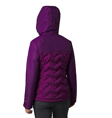 Women's Grand Trek™ Down Hooded Jacket Grand Trek™ Down Jacket | 619 | XL, Wild Iris, back