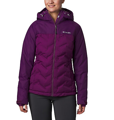 Women's Grand Trek™ Down Hooded Jacket Grand Trek™ Down Jacket | 619 | XL, Wild Iris, front