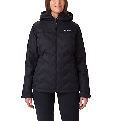 Women's Grand Trek Down Jacket Grand Trek™ Down Jacket | 010 | L, Black, front