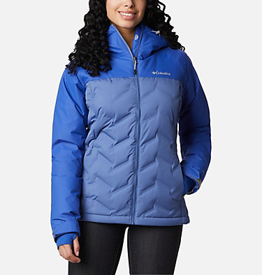 Grand Trek Daunenjacke für Damen Grand Trek™ Down Jacket | 594 | L, Velvet Cove, Lapis Blue, front