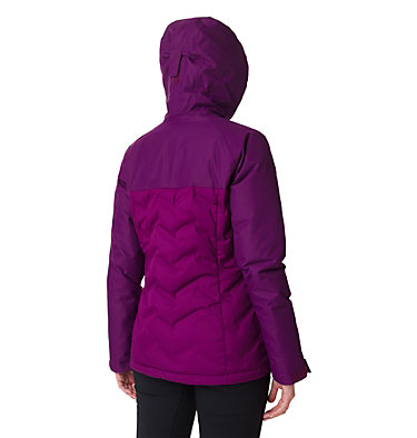 Abrigo de plumón Grand Trek para mujer Grand Trek™ Down Jacket | 594 | M, Wild Iris, back