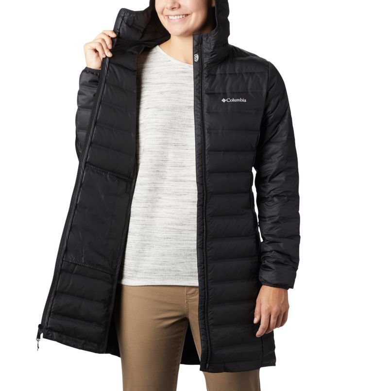 Women's Lake 22™ Down Long Hooded Jacket Women's Lake 22™ Down Long Hooded Jacket, a3