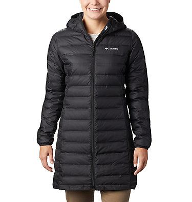 Women's Lake 22™ Down Long Hooded Jacket Lake 22™ Down Long Hooded Jacket | 618 | XS, Black, front