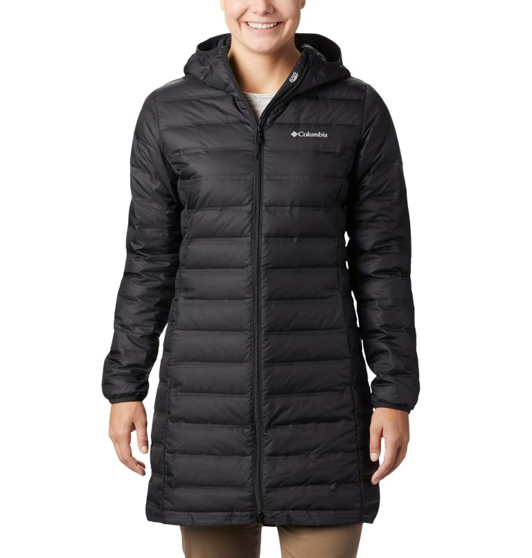 Women's Lake 22™ Down Long Hooded Jacket Women's Lake 22™ Down Long Hooded Jacket, front