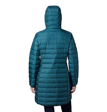 Women's Lake 22™ Down Long Hooded Jacket Lake 22™ Down Long Hooded Jack | 375 | M, Dark Seas, back