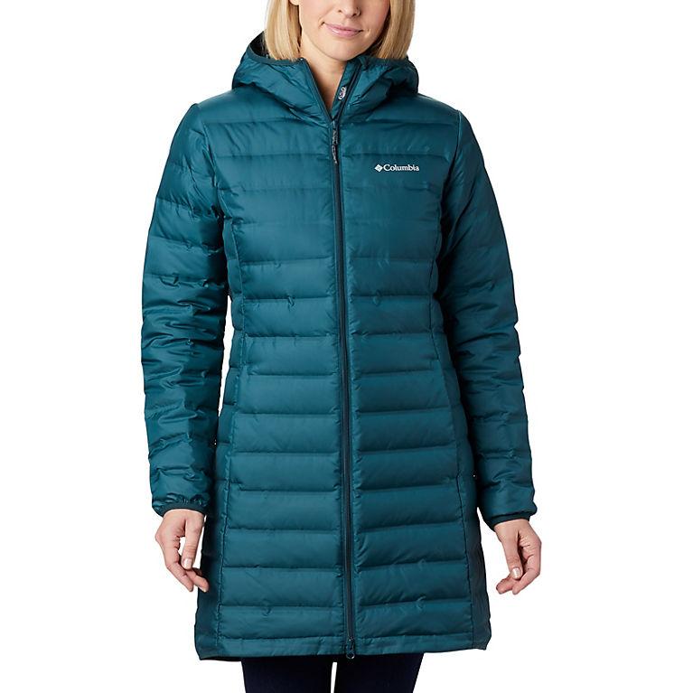 texture nette bas prix San Francisco Manteau long en duvet à capuchon Lake 22™ pour femme