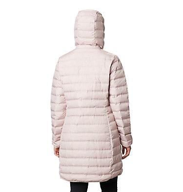 Women's Lake 22™ Down Long Hooded Jacket Lake 22™ Down Long Hooded Jacket | 618 | XS, Mineral Pink, back