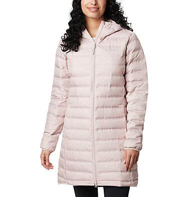 Women's Lake 22™ Down Long Hooded Jacket Lake 22™ Down Long Hooded Jacket | 618 | XS, Mineral Pink, front