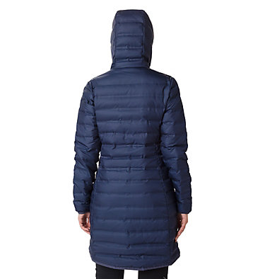 Women's Lake 22 Down Long Hooded Jacket , back
