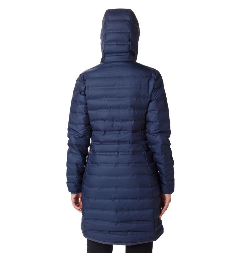 Lake 22™ Down Long Hooded Jack | 466 | L Women's Lake 22 Down Long Hooded Jacket, Nocturnal, back