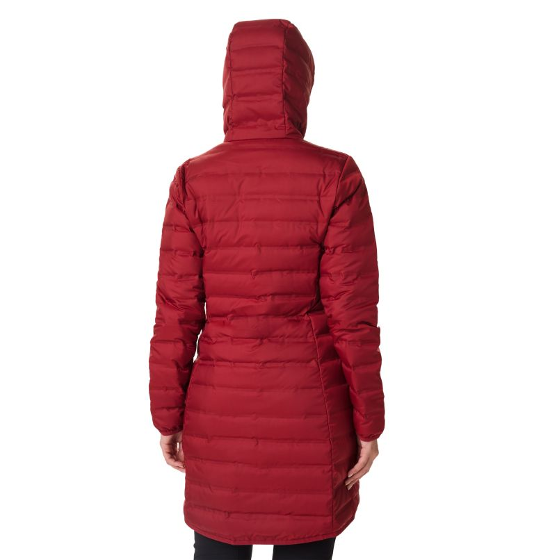 Women's Lake 22 Down Long Hooded Jacket Women's Lake 22 Down Long Hooded Jacket, back