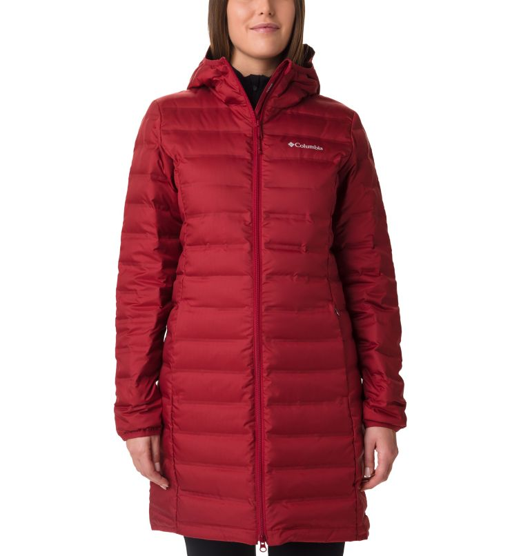 Women's Lake 22 Down Long Hooded Jacket Women's Lake 22 Down Long Hooded Jacket, front
