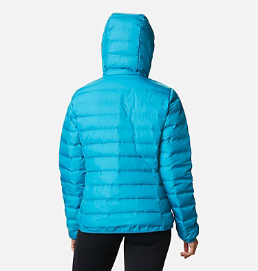 Women's Lake 22™ Down Hooded Jacket Lake 22™ Down Hooded Jacket | 671 | L, Fjord Blue, back