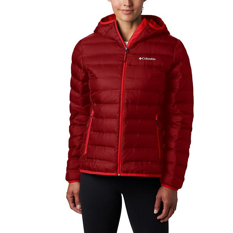 Beet Women's Lake 22™ Down Hooded Jacket, View 0