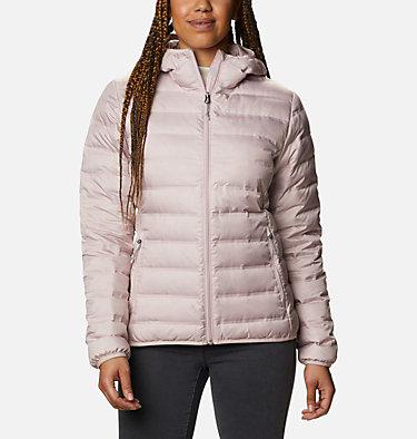 Women's Lake 22™ Down Hooded Jacket Lake 22™ Down Hooded Jacket | 671 | L, Mineral Pink, front