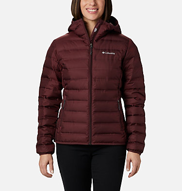 Women's Lake 22™ Down Hooded Jacket Lake 22™ Down Hooded Jacket | 671 | L, Malbec, front