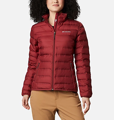 Lake 22 Daunenjacke für Damen Lake 22™ Down Jacket | 010 | L, Marsala Red, front