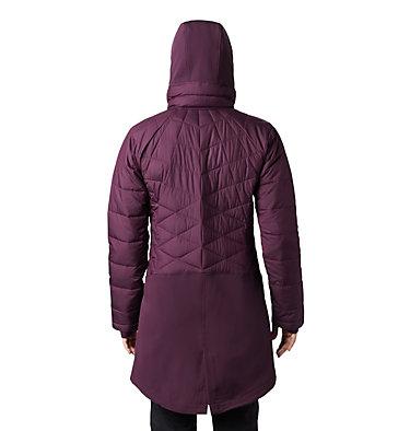 Women's Heavenly™ Long Hybrid Jacket Heavenly™ Long Hybrid Jacket | 522 | XS, Black Cherry, back