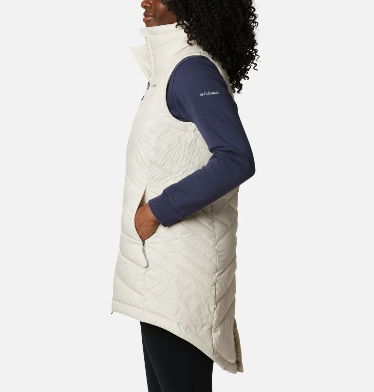 Heavenly™ Long Vest | 191 | XS Women's Heavenly™ Long Vest, Chalk, a1