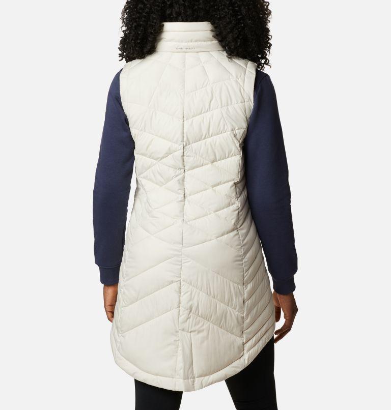 Heavenly™ Long Vest | 191 | XS Women's Heavenly™ Long Vest, Chalk, back