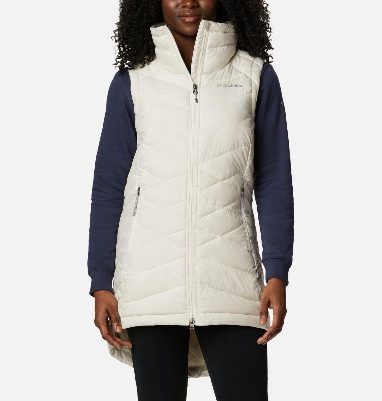 Heavenly™ Long Vest | 191 | XS Women's Heavenly™ Long Vest, Chalk, front