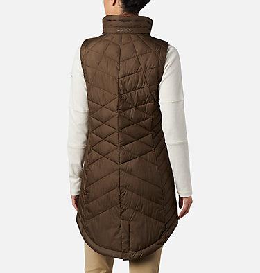 Women's Heavenly™ Long Vest Heavenly™ Long Vest   618   M, Olive Green, back