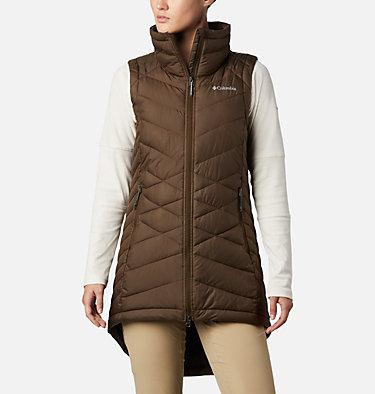 Women's Heavenly™ Long Vest Heavenly™ Long Vest   618   M, Olive Green, front