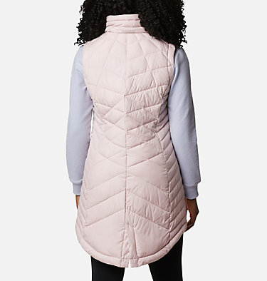 Women's Heavenly™ Long Vest Heavenly™ Long Vest | 618 | M, Mineral Pink, back