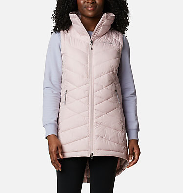 Women's Heavenly™ Long Vest Heavenly™ Long Vest | 618 | M, Mineral Pink, front