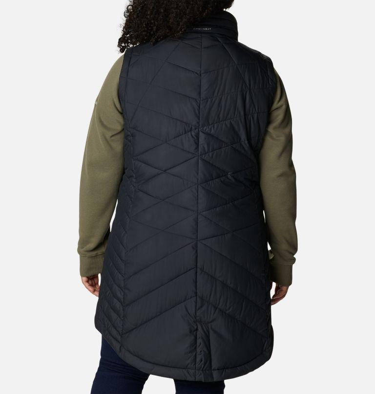 Women's Heavenly Long Vest - Plus Size Women's Heavenly Long Vest - Plus Size, back