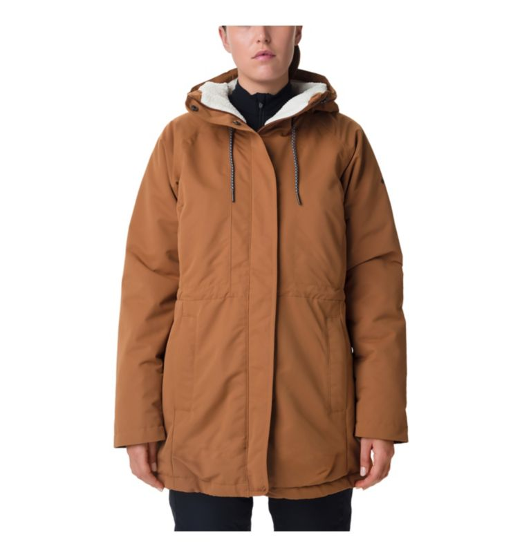 South Canyon™ Sherpa Lined Jac | 224 | XS Veste Doublée De Polaire South Canyon Femme, Camel Brown, front