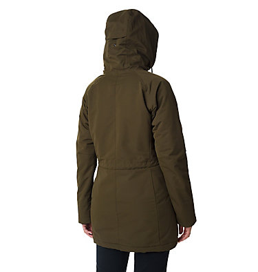 Women's South Canyon Sherpa Lined Jacket South Canyon™ Sherpa Lined Jac | 224 | L, Olive Green, back