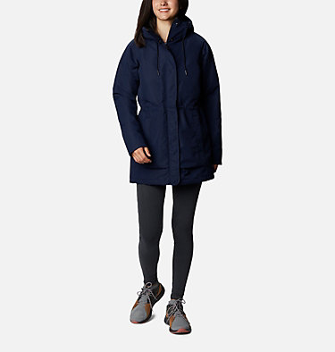 Women's South Canyon Sherpa Lined Jacket South Canyon™ Sherpa Lined Jac | 224 | L, Dark Nocturnal, front