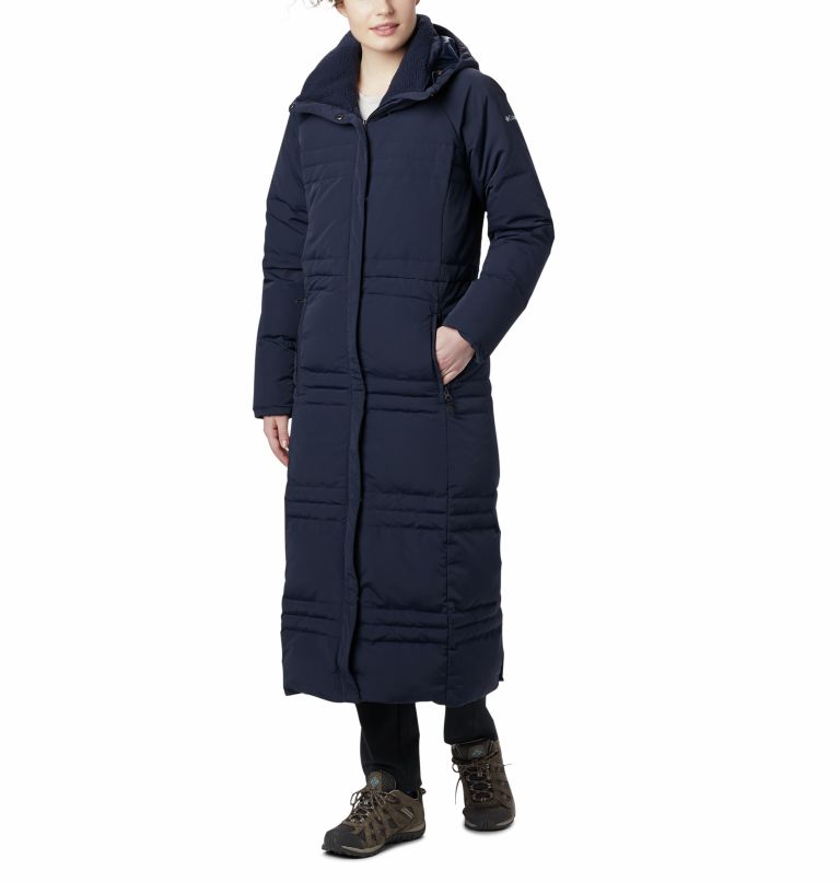 Women's Ruby Falls Down Long Jacket Women's Ruby Falls Down Long Jacket, front