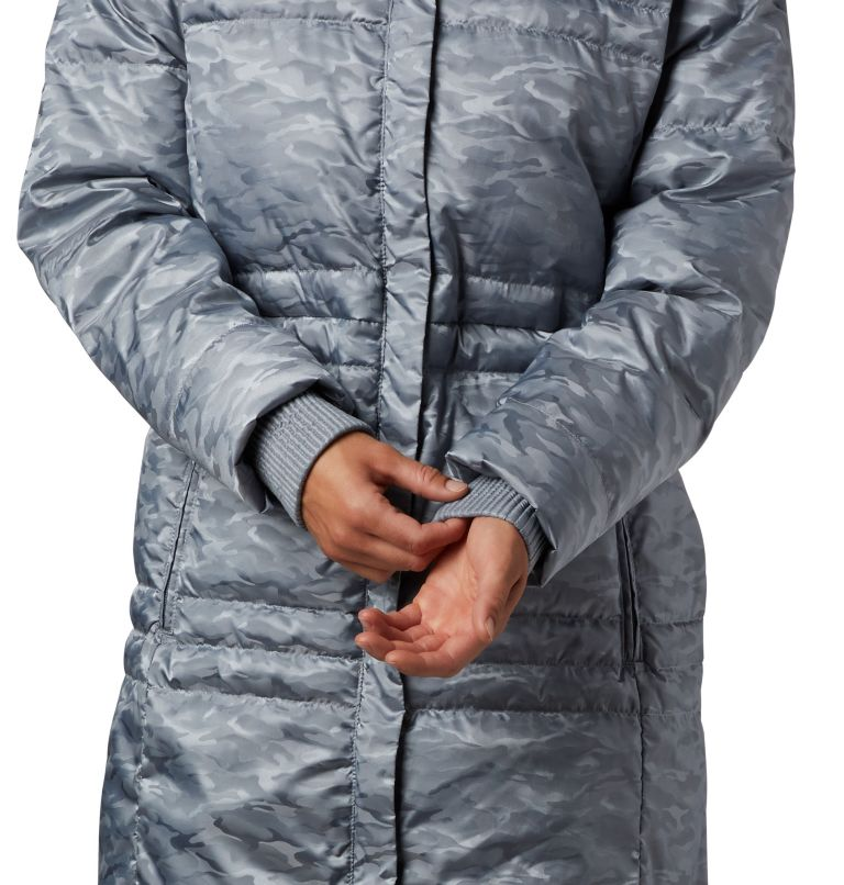Ruby Falls™ Down Mid Jacket | 032 | L Women's Ruby Falls™ Down Mid Jacket, Tradewinds Grey Jacquard, a2