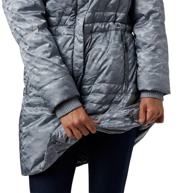 Ruby Falls™ Down Mid Jacket | 032 | L Manteau en duvet mi-long Ruby Falls™ pour femme, Tradewinds Grey Jacquard, a3