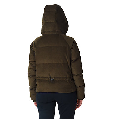 Women's Ruby Falls Down Jacket Ruby Falls™ Down Jacket | 319 | L, Olive Green Corduroy, back