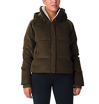 Women's Ruby Falls Down Jacket Ruby Falls™ Down Jacket | 319 | L, Olive Green Corduroy, front