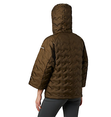 Women's Delta Ridge™ Casual Down Jacket Delta Ridge™ Casual Down Jacke | 010 | S, Olive Green, back