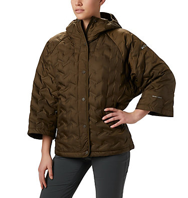Women's Delta Ridge™ Casual Down Jacket Delta Ridge™ Casual Down Jacke | 010 | S, Olive Green, front