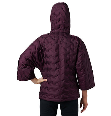 Women's Delta Ridge™ Casual Down Jacket Delta Ridge™ Casual Down Jacke | 010 | S, Black Cherry, back