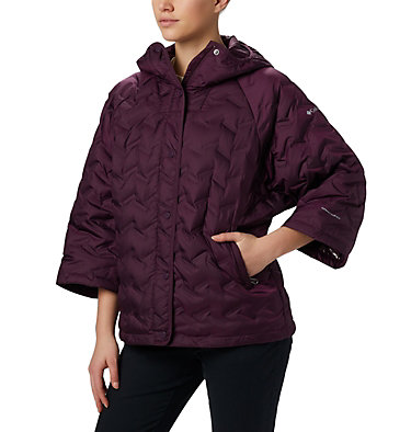 Women's Delta Ridge™ Casual Down Jacket Delta Ridge™ Casual Down Jacke | 010 | S, Black Cherry, front