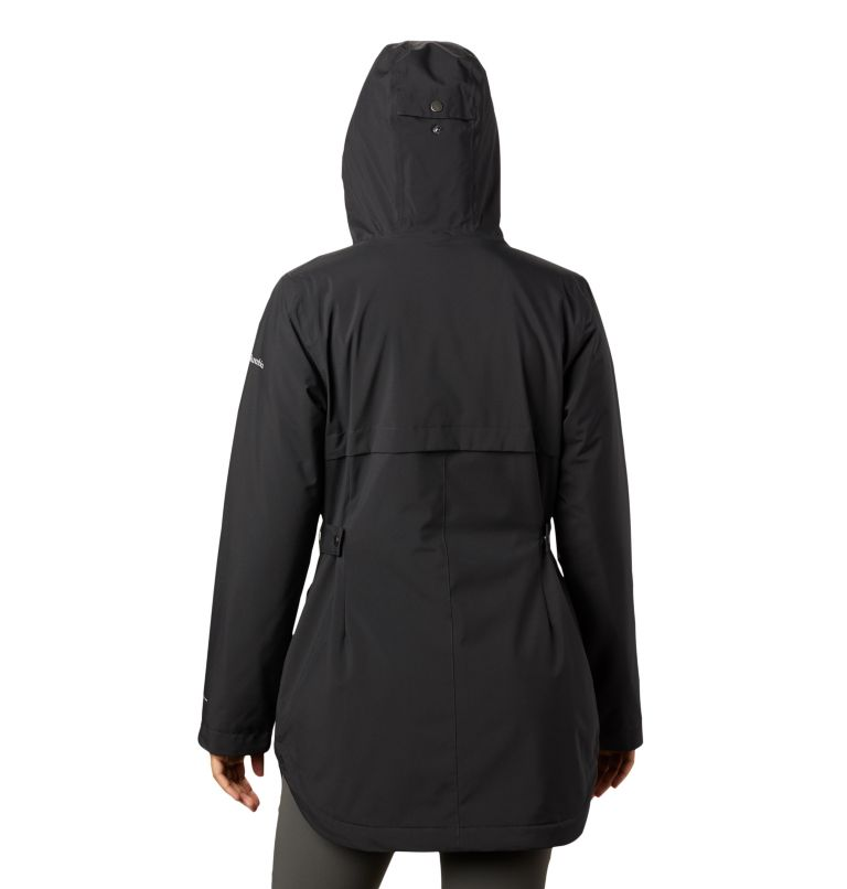 Women's Here and There™ Insulated Trench Jacket Women's Here and There™ Insulated Trench Jacket, back
