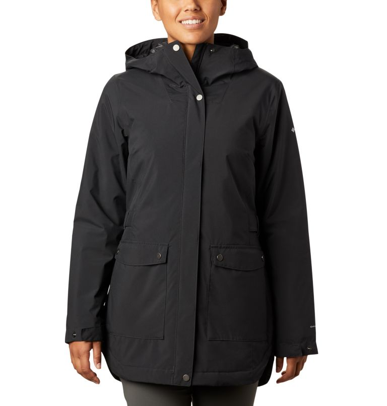 Women's Here and There™ Insulated Trench Jacket Women's Here and There™ Insulated Trench Jacket, front