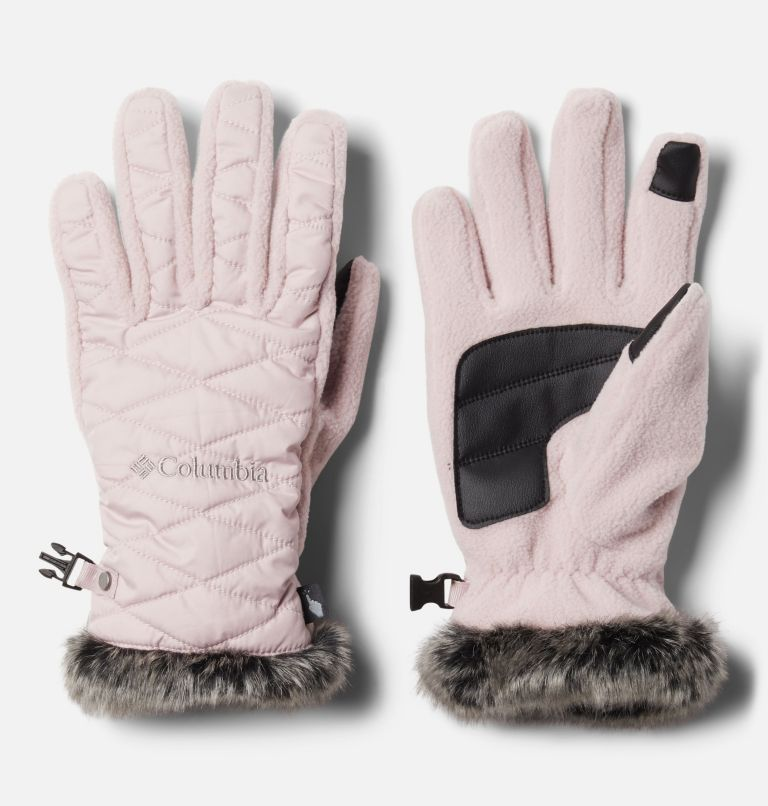 W Heavenly™ Glove | 618 | S Women's Heavenly™ Gloves, Mineral Pink, front