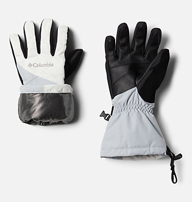 Women's Whirlibird™ Ski Gloves W Whirlibird™ Glove | 010 | L, White Crackle Print, Cirrus Grey, a1