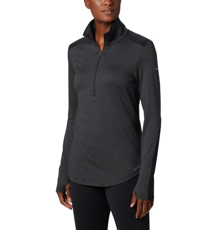 Women's Place to Place™ 1/2 Zip Shirt Women's Place to Place™ 1/2 Zip Shirt, front