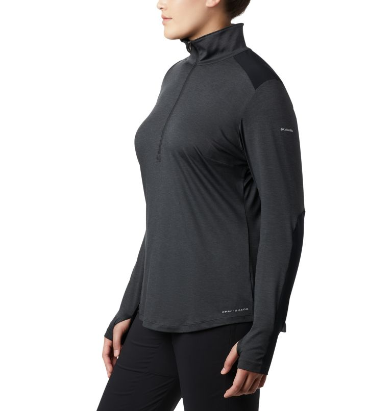 Women's Place to Place™ 1/2 Zip Shirt - Plus Size Women's Place to Place™ 1/2 Zip Shirt - Plus Size, a1