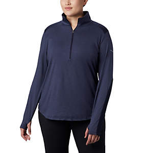 Women's Place to Place™ 1/2 Zip Shirt - Plus Size