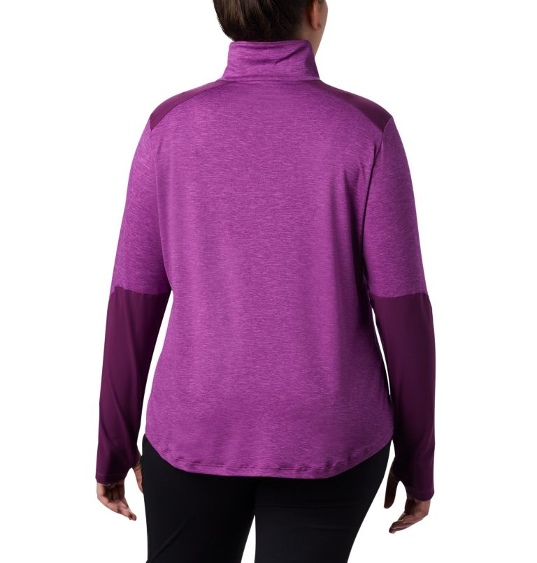 Women's Place to Place™ 1/2 Zip Shirt - Plus Size Women's Place to Place™ 1/2 Zip Shirt - Plus Size, back
